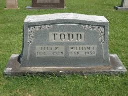 Lela Dudley Matheny Todd (1881-1949) - Find A Grave Memorial