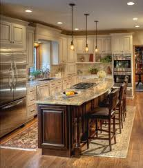 Charming Traditional Island Style Cream Kitchen, Cabinets, Stefanie Ciak, Other Home Design Ideas