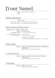 No Job Resumes How To Write A Resume With No Job Experience Example