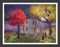 a haunted painting of your home by the painter of dark