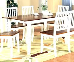 dining table black legs wood top wooden top dining table dark wood with white legs this