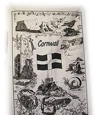cornish gift tea towel of cornish herie