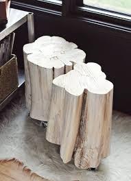 Tree stump furniture Dining Room Diy Side Table Trendir Diy Side Table Fossil Brewing Design Curious Tree Stump Side Table