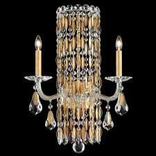 crystal wall sconce wonderful exclusive crystal wall light sarella in gold lights