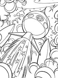 Small Picture Coloring Pages About Space Coloring Pages