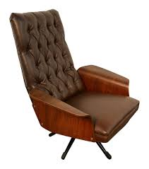 Iconic Modern Furniture Vintage Mulhauser Bent Wood Arm Lounge Chair Mid Century Modern