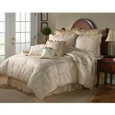 malaga ivory king size 4 piece comforter set free
