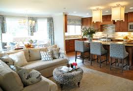 ... Open Concept Kitchen Living Room Design Ideas Living Room Chair Covers  At Target ...
