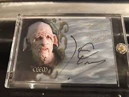 Some ideas simply need time to incubate. Clem Buffy The Vampire Slayer Autograph James Leary Collectibles Buffy The Vampire Slayer