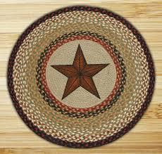 star braided jute rug round