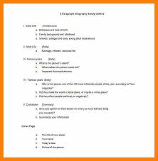 biography outline worksheet computer invoice biography outline worksheet biography essay outline template jpg