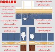 How To Make Roblox Pants Roblox Templates Roblox_template Twitter