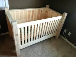 Diy Baby Furniture Interior Rustic Nursery Area Using Simple Baby