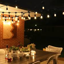 string lighting indoor. Waterproof 10m 10 LED String Lights Indoor Outdoor Commercial Grade E26 E27 Street Garden Patio Backyard Holiday Lighting S