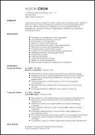 Free Creative Corporate Trainer Resume Template Resumenow