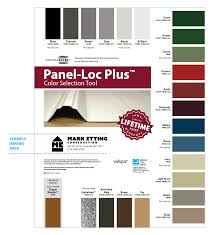 Color Chart Order Form Central States Mfg Inc