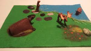 here is the beginnings of a construction site felt play mat for my little nephew who loves trucks the darker brown is where the packed earth is to form a