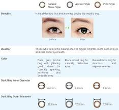 Acuvue Contact Colors Chart Acuvue Color Contacts Chart
