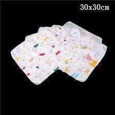 Teddy Bear Chart Us 1 86 16 Off 10pcs Lot Baby Feeding Towel Teddy Bear Bunny Dot Chart Printed Children Small Handkerchief Gauze Towels Nursing Towel 3 Sizes In