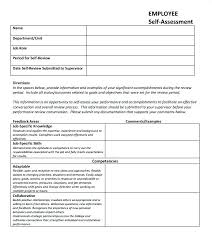 Performance Appraisal Form Format Beauteous 8 Sample Annual Forms ...