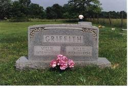 """William Harmon """"Willie"""" Griffith (1870-1954) - Find A Grave Memorial"""