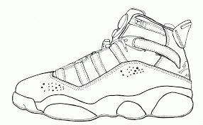 Small Picture Jordan Coloring Pages Shoes Coloring Home