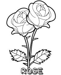 Just click on the icons, download the file(s) and print them on your 3d printer. Printable Blooming Rose Flowers Coloring Sheet