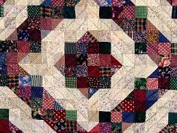 Split Nine Patch Quilt -- outstanding smartly made Amish Quilts ... & ... Green and Burgundy Split Nine Patch Quilt Photo 3 ... Adamdwight.com