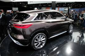 2018 infiniti cars. plain infiniti 2018 infiniti qx50 sighting shows detroit concept influence and infiniti cars