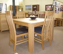 gemini oak large 6 to 8 seat table with chairs