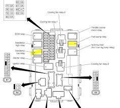 2009 Nissan Coupe Fuse Box Diagram Diagram Base Website Box ...