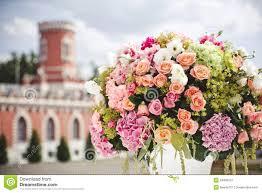 Wedding Flowers Decoration Decoration Of Wedding Flowers Royalty Free Stock Photography