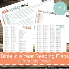 Read Bible In A Year Chart Printable Chart Bible In A Year Reading Plans Chart Bible Reading Chart