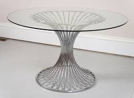 image of round plexiglass table top replacement