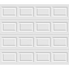 garage door 9x7Clopay Premium Series 8 ft x 7 ft 65 RValue Insulated White