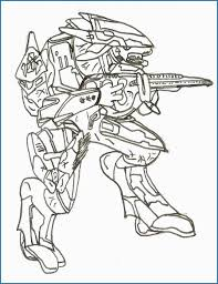 Halo Spartan Coloring Pages Pretty Halo Cqb Free Coloring Pages