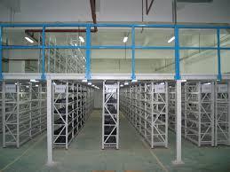 iron steel warehouse industrial mezzanine floor storage racks made in china agri office mezzanine floor