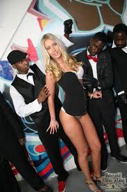 Blonde Interracial BlowBang OFFICIAL Blog