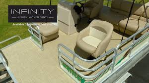 how to install infinity luxury woven vinyl flooring on a pontoon