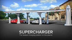 Tesla S First Electric Car Supercharger Stations Now Live