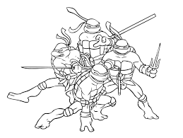 Ninja coloring pages will be one of the favorite coloring pages for boys. Ninja Turtles To Download Ninja Turtles Kids Coloring Pages