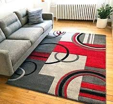 plush gray area rug wonderful red black and gray area rugs black and gray area rugs