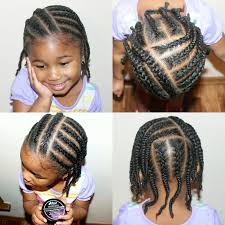 natural hair kids simple protective