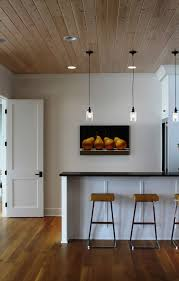 bare bulb lighting. Impressive Reliabilt Doors Method Minneapolis Contemporary Kitchen Image Ideas With Artwork Bare Bulb Pendants Breakfast Bar Ceiling Lighting Eat In