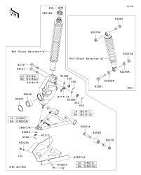 2011 kawasaki prairie 360 4x4 kvf360a suspension parts best oem kawasaki prairie 650 wiring diagram 2011