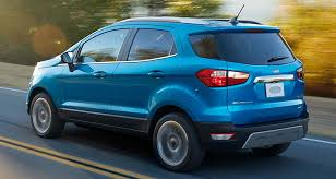 2018 ford ecosport.  ford 2018 ford ecosport suv rear with ford ecosport