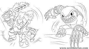 Free Printable Academy Coloring Pages For You To Download Skylander