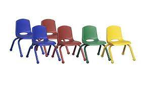 ecr4kids school stack chair with