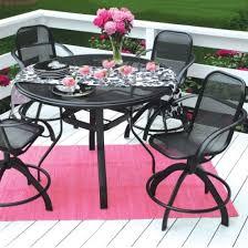 balcony design metal chairs pink rug balcony design furniture