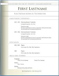 Microsoft Resume Template Download Resume Templates Word Download ...